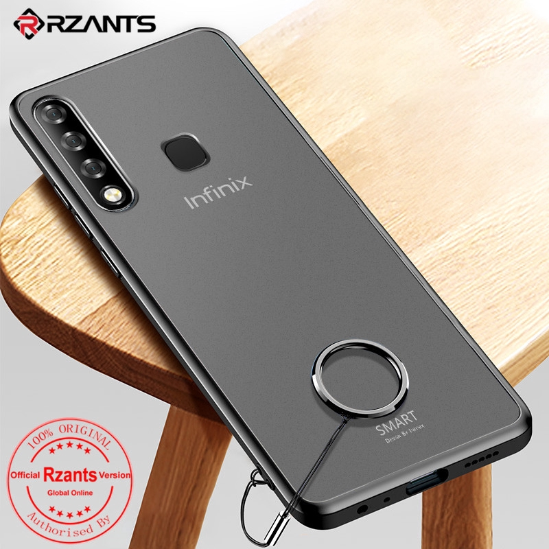 Untuk Infinix Smart 3 Plus Case Frosted【Translucent】Hard PC Back Anti-Knock  Slim Tipis Cover