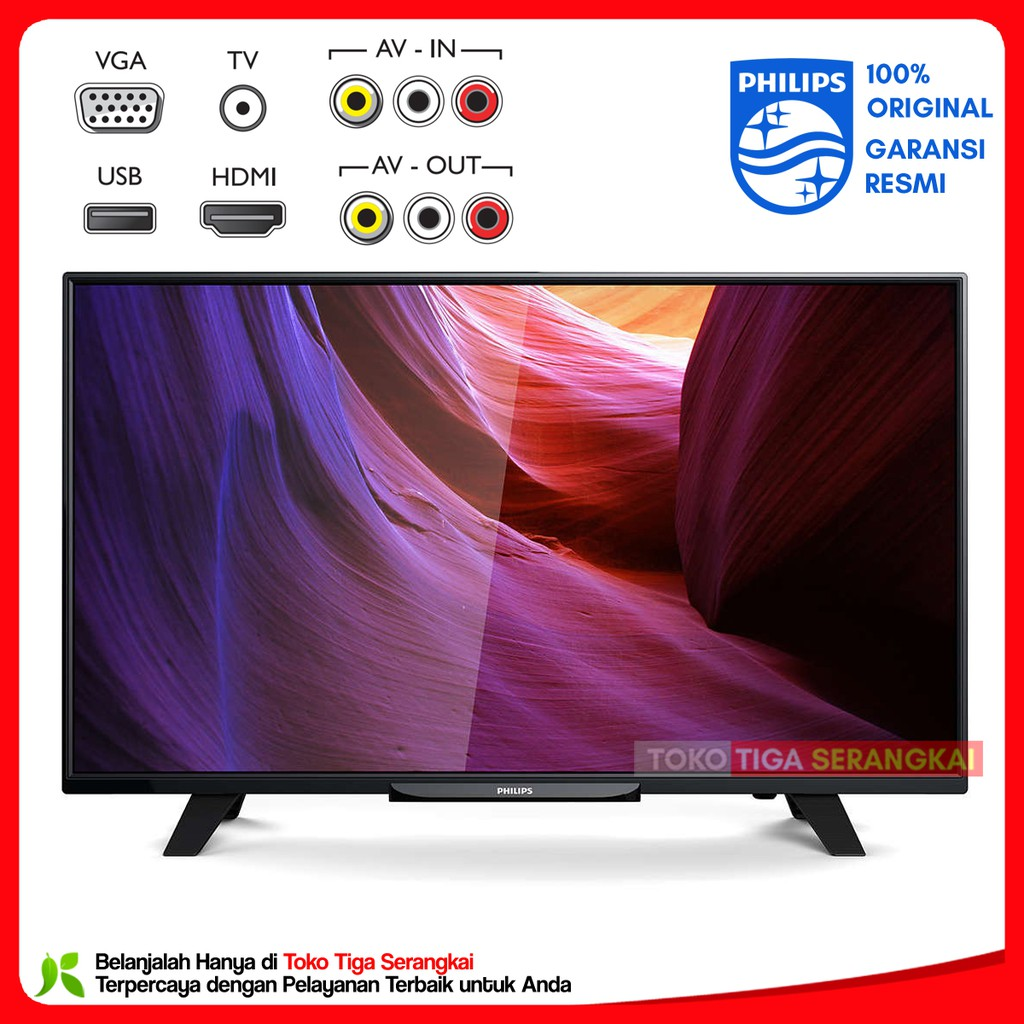 Sharp Led Tv Lc 24le170i Tt 24 Inch Shopee Indonesia Le170i