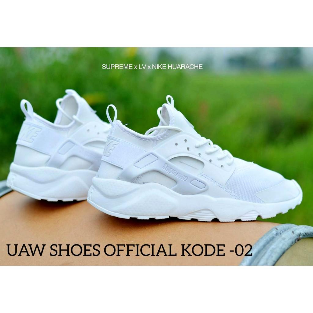 ... uawshoesofficial I Sepatu Senam Wanita NIKE HUARACHE x LV x SUPREME  WANITA Sneakers Olahraga Wanita ... 6f9918192a