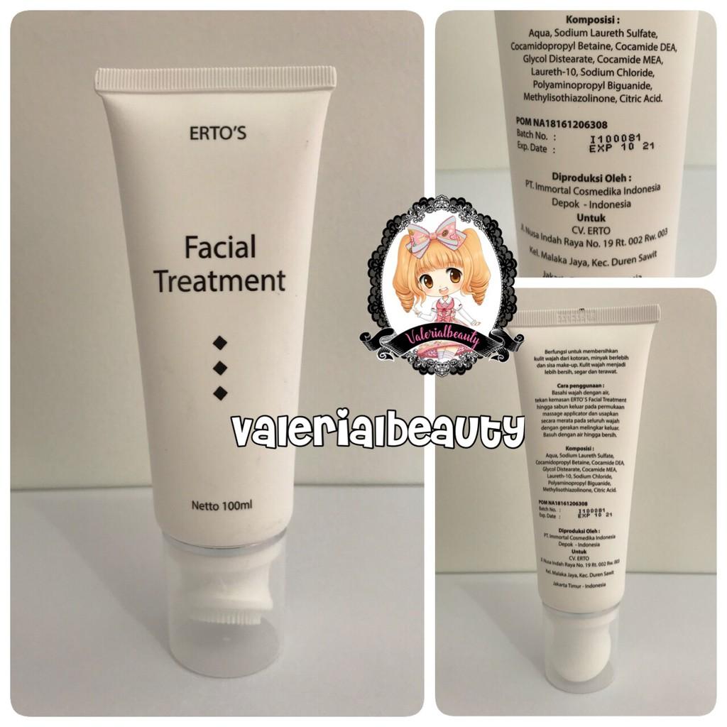 Up To 32 Discount Valerialbeauty Ertos Body Cream Bpom Original Facial Treatment 100ml