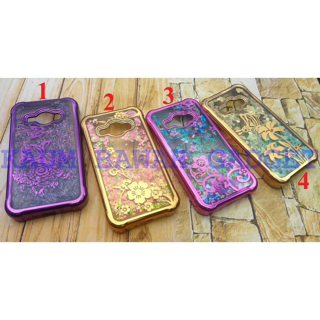 Case Water Glitter Gambar Samsung J1 Ace Air Softcase Silikon Soft Shopee Indonesia