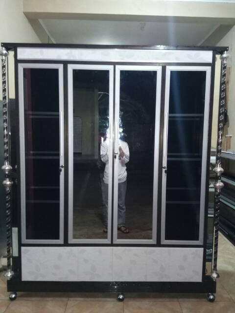 Lemari Pakaian Aluminium 3 Pintu Karakter
