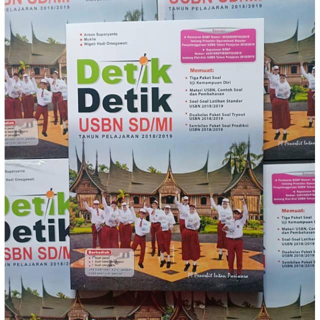 Buku UN SD - DETIK DETIK USBN SD/MI 2018 INTAN PARIWARA | Shopee Indonesia
