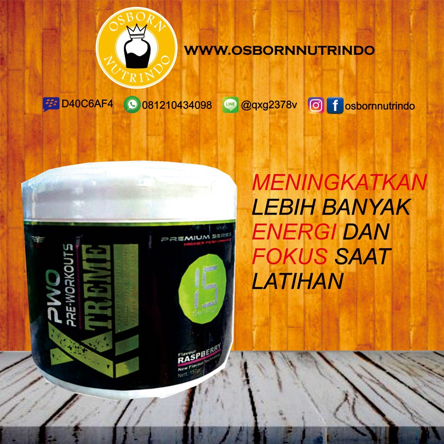 Bxn Xtreme Preworkout 15 Serving Shopee Indonesia Suplemen Pre Workout The Curse Cobralabs