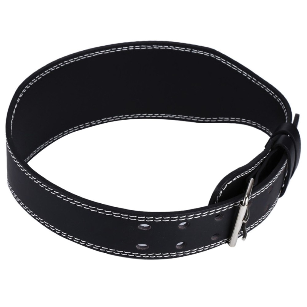 Eb Pu Weight Lifting Belt Protect Waist Pesas Gym Fitness Sabuk Semi Kulit Belts Equipment Shopee Indonesia