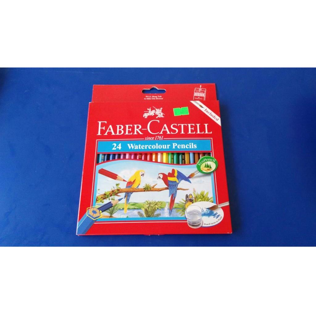 Faber Castell Colour Grip Watercolour Pencils 24l Shopee Indonesia Staedtler Luna Aquarell 137 C36