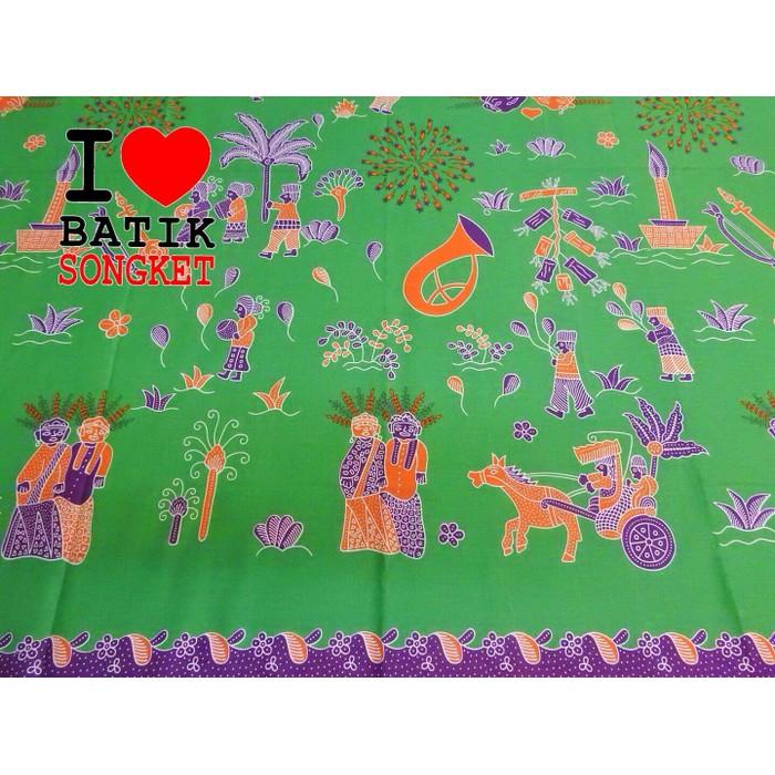 Dijual sarung pucuk rebung motif batik betawi ada 6 warna piliha Limited  4a63d0172a