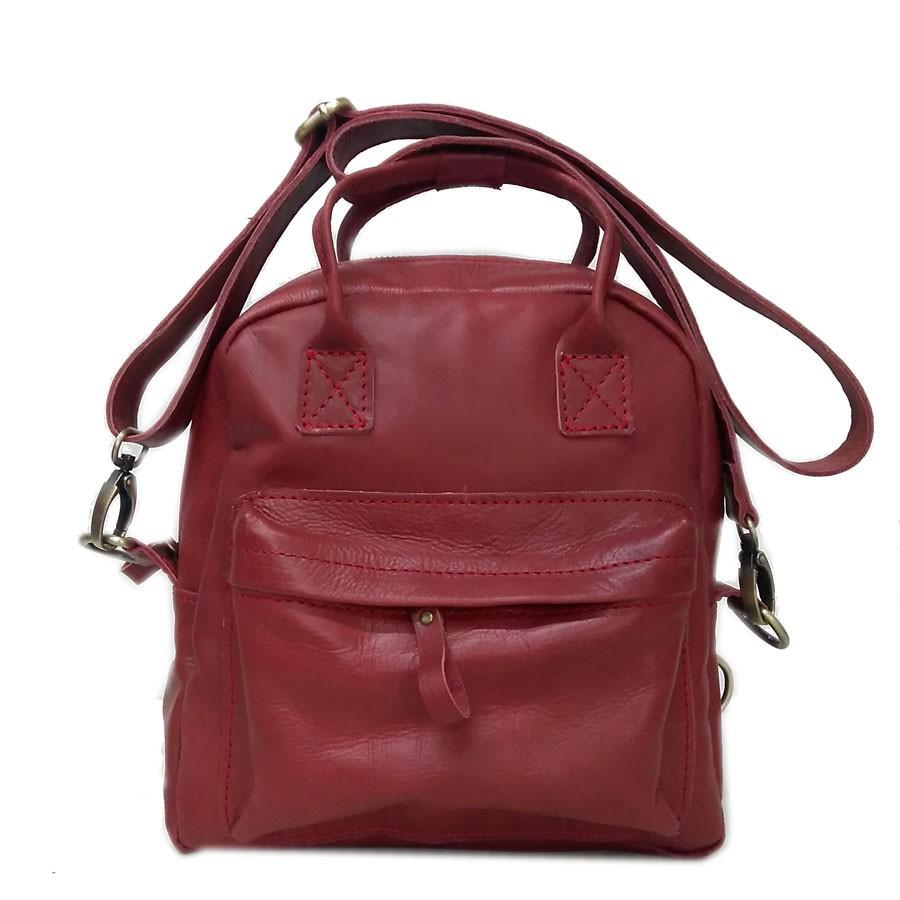 Tas Kulit Asli - Tas Kulit Wanita - Sling Bag vintage nabati baru - jati Terbatas