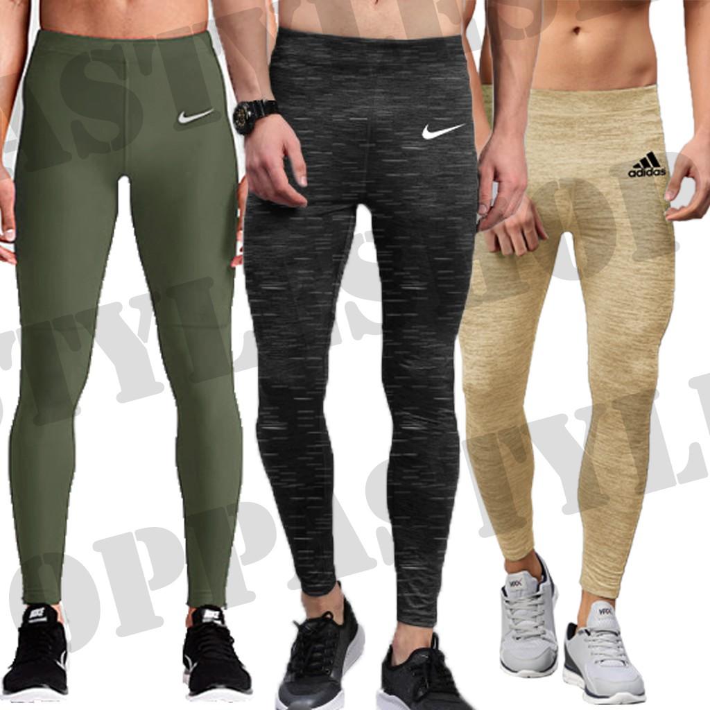 Oppa Style Shop Basic Brand Premium Legging Pria Celana Legging Panjang Training Sport Shopee Indonesia