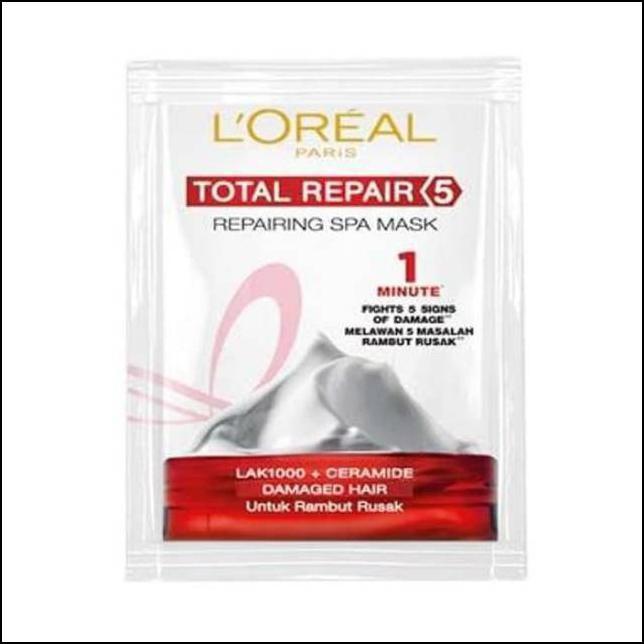 Loreal Hair Mask Spa Sachet Masker Rambut Sachet 20ml Shopee Indonesia