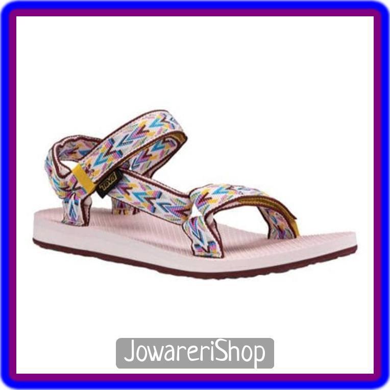dd1f9dac5a6b Kekinian Sandal Casual Outdoor Teva Women Original Universal Hoy PINK 36  Unik