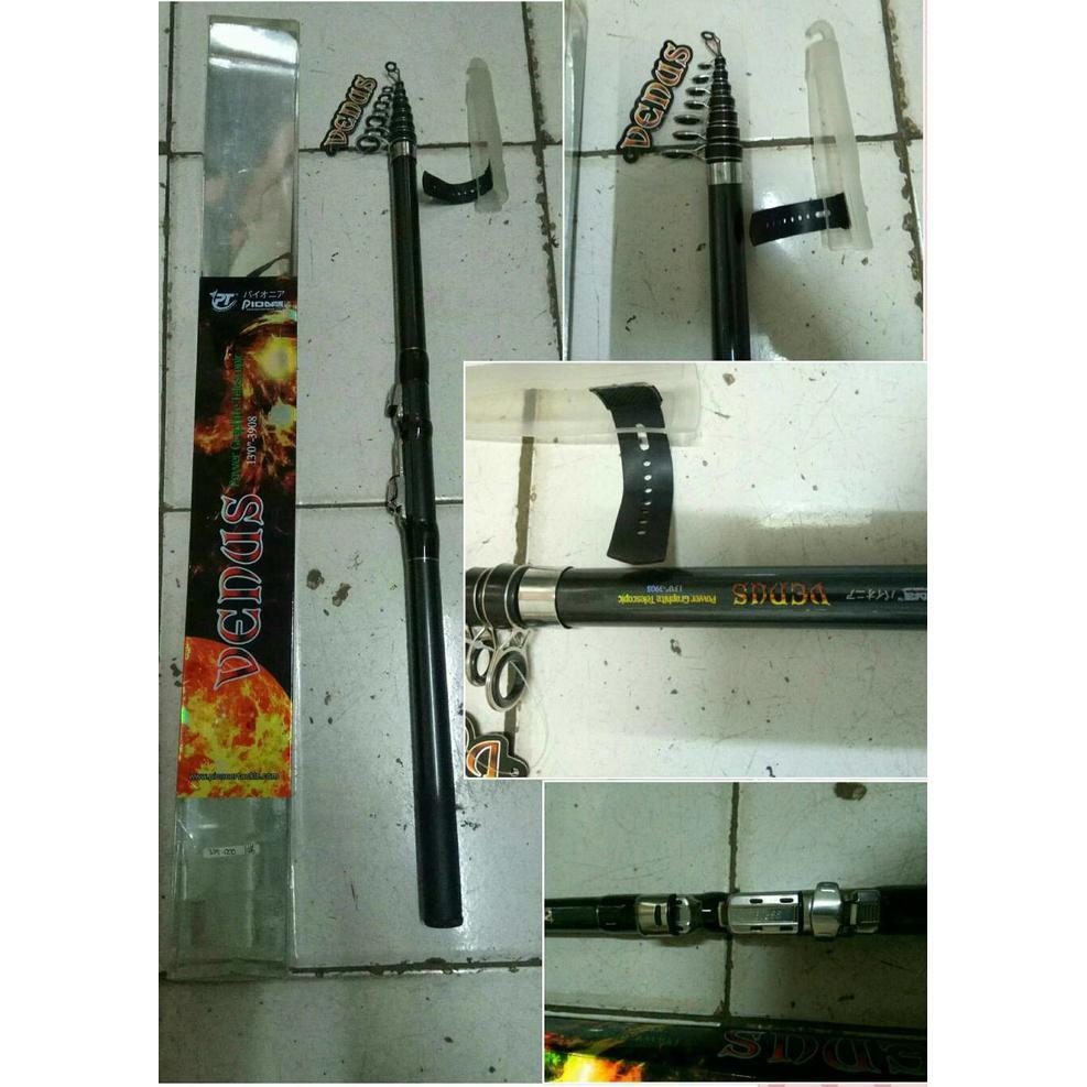 Dapatkan Harga Joran Teleskopik Diskon Shopee Indonesia Stik Alat Pancing Rod Telescopic Versus Maximus 270