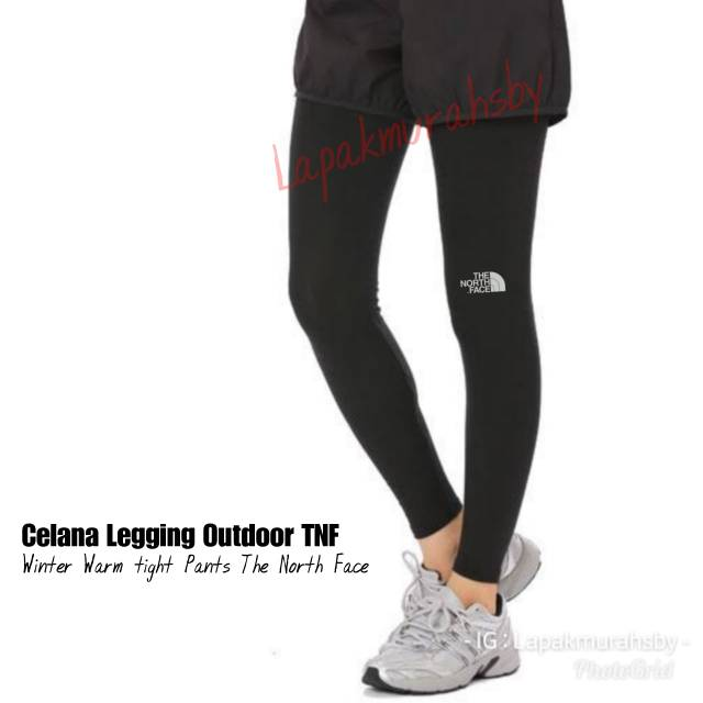 Celana Legging Outdoor Tebal Winter Warm Long Pants Shopee Indonesia