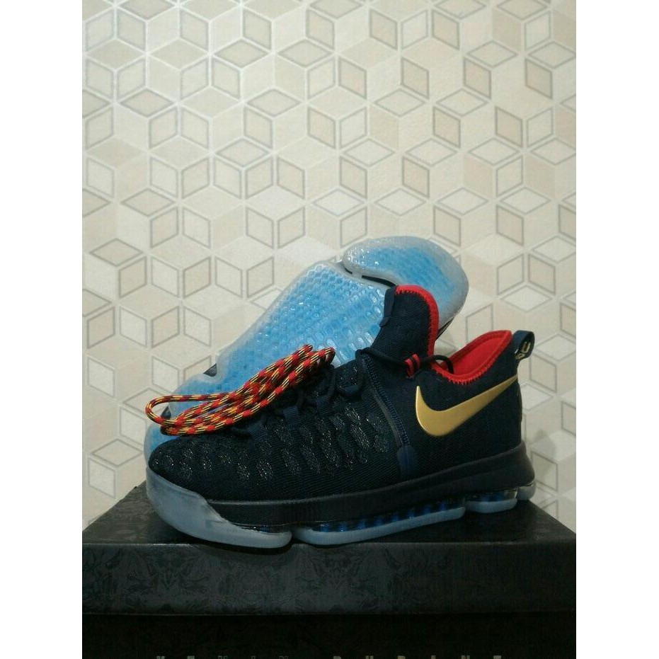 Stok Terbatas!! Sepatu Basket Nike Kd 9 Kevin Durant 9 Golden State ... cfb088ca55