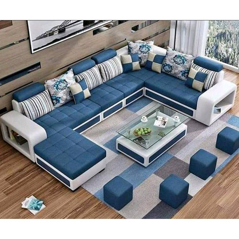 Sofa Kursi Mabel Ruang Tamu Leter U