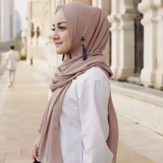 Jilbab Pashmina Sabyan Diamond Hijab Pashmina Shopee Indonesia