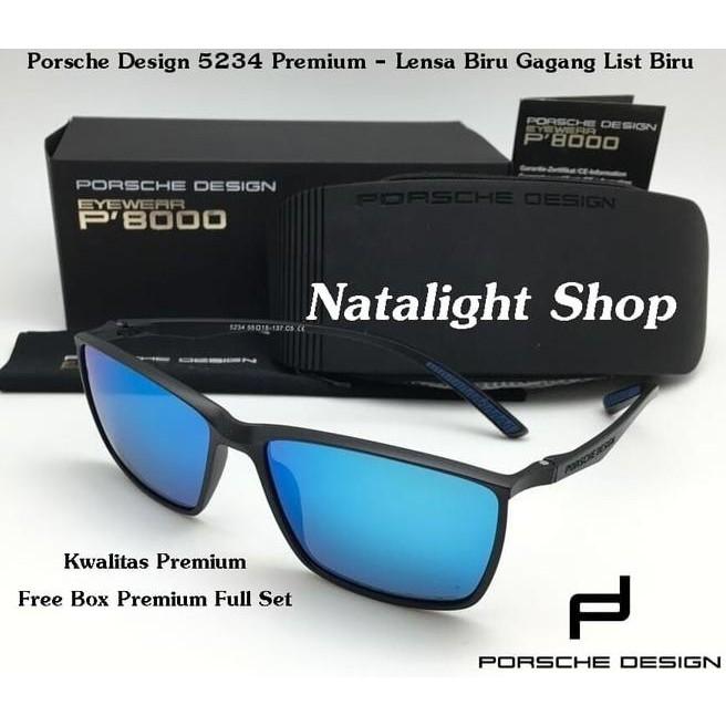 Sunglasses Kaca Mata Pria Porsche Design 5234 Super Polarize Mewah Gaya  5c83dee415