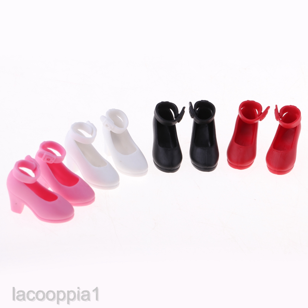 10pairs Fashion Colorful Accessories Shoes Heels Sandals For  Dolls Gif iv