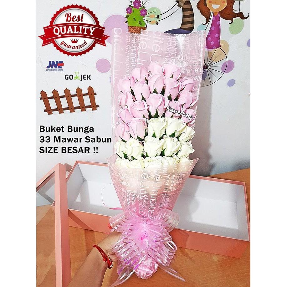 Buket 3 bunga Mawar Sabun 3dae6125f2