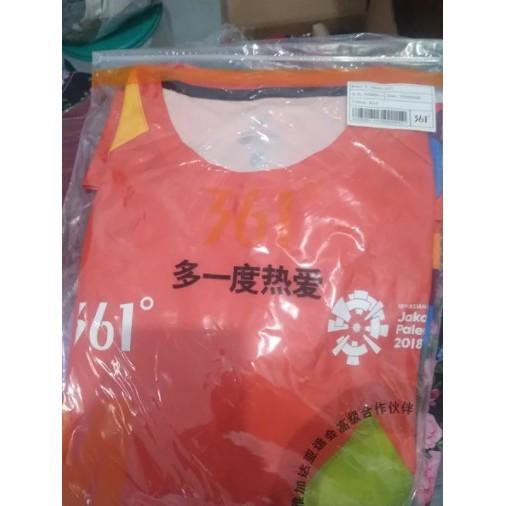 Kaos (T-shirt) Jersey Volunteer Asian Games 2018 Original New