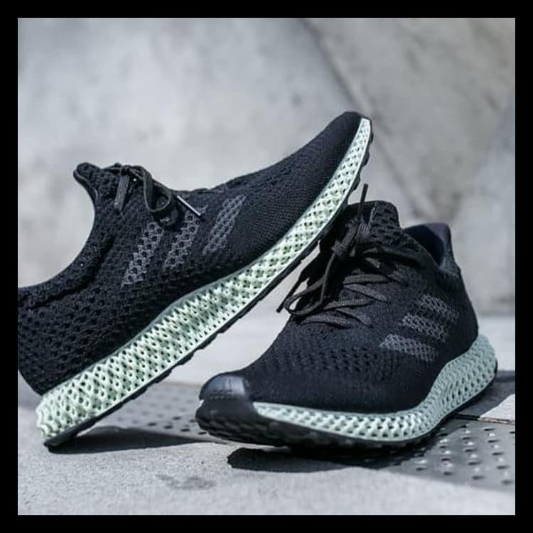 aacd9ff90e7e4 Berkualitas Sepatu Adidas Futurecraft 4D Sepatu Sneakers Pria Sepatu Kasual  Promo
