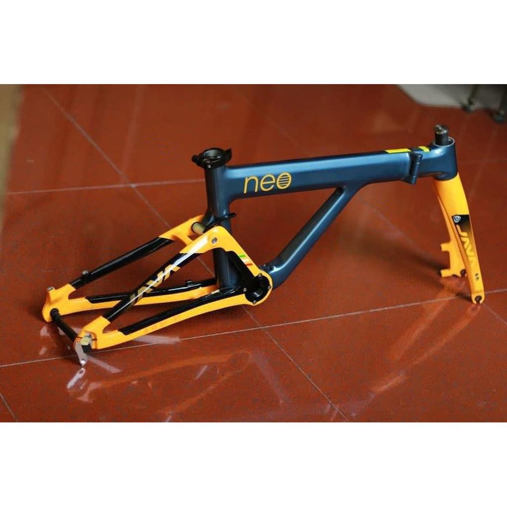 frame sepeda lipat java neo carbon   Shopee Indonesia