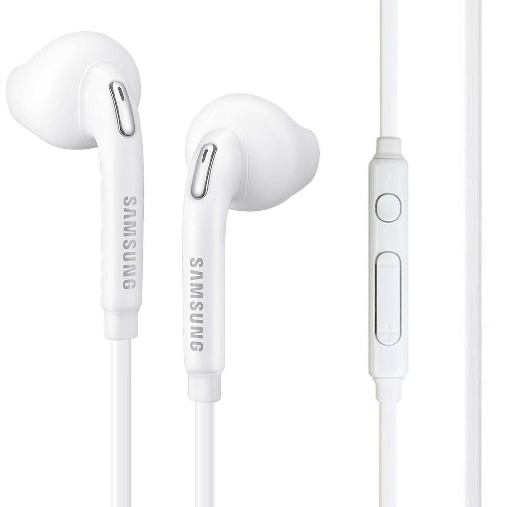 Earphone Samsung S7 Original Handsfree Headset Hp Galaxy White Putih S6 Edge Plus Shopee Indonesia