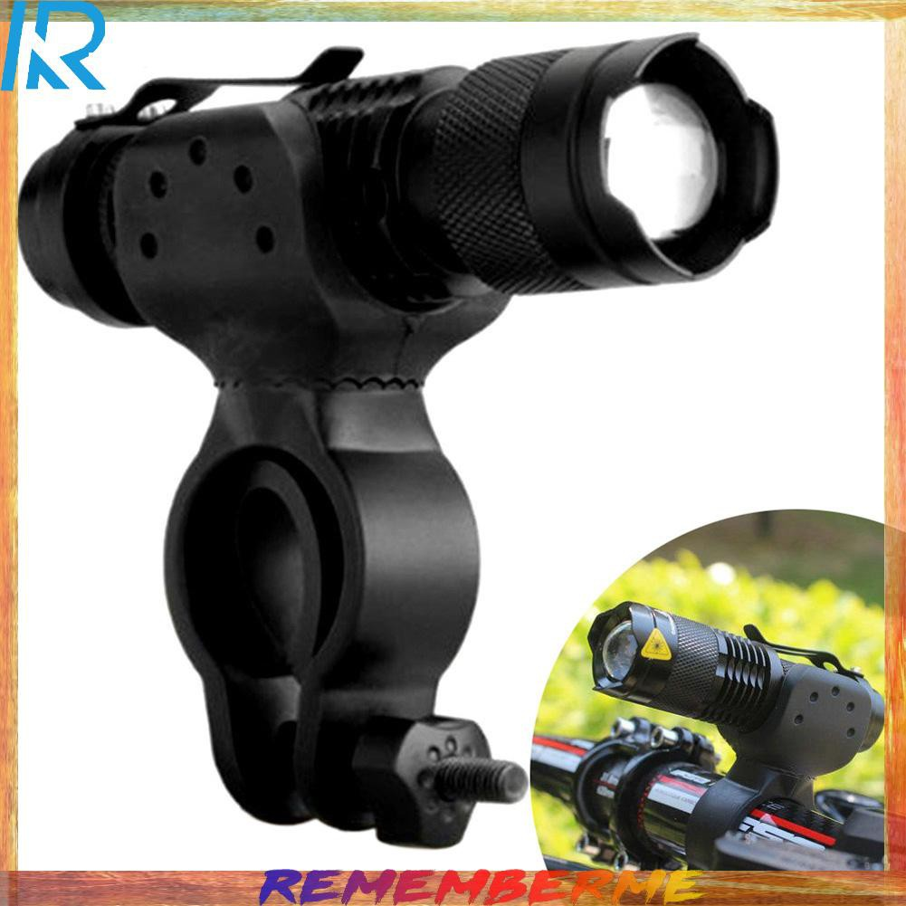 For Bicycle 3000 Lumens Head Light Double LED USB Rechargeable Lamp 360° Mount
