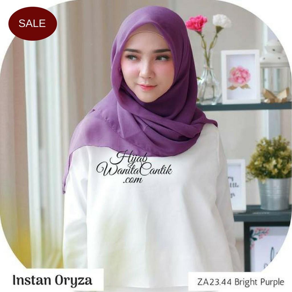Up To 56 Discount From Brand Oryza Hijab Pashmina Maxmara Jilbab Hijabwanitacantik Ori Defect Sale Instan Original I