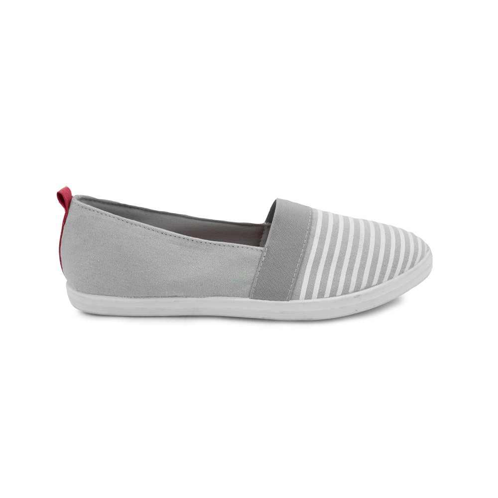 North Star Sepatu Slip On Wanita Malika Grey 5892344 Shopee