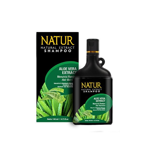 Natur Shampoo Aloe Vera 140 Ml-1
