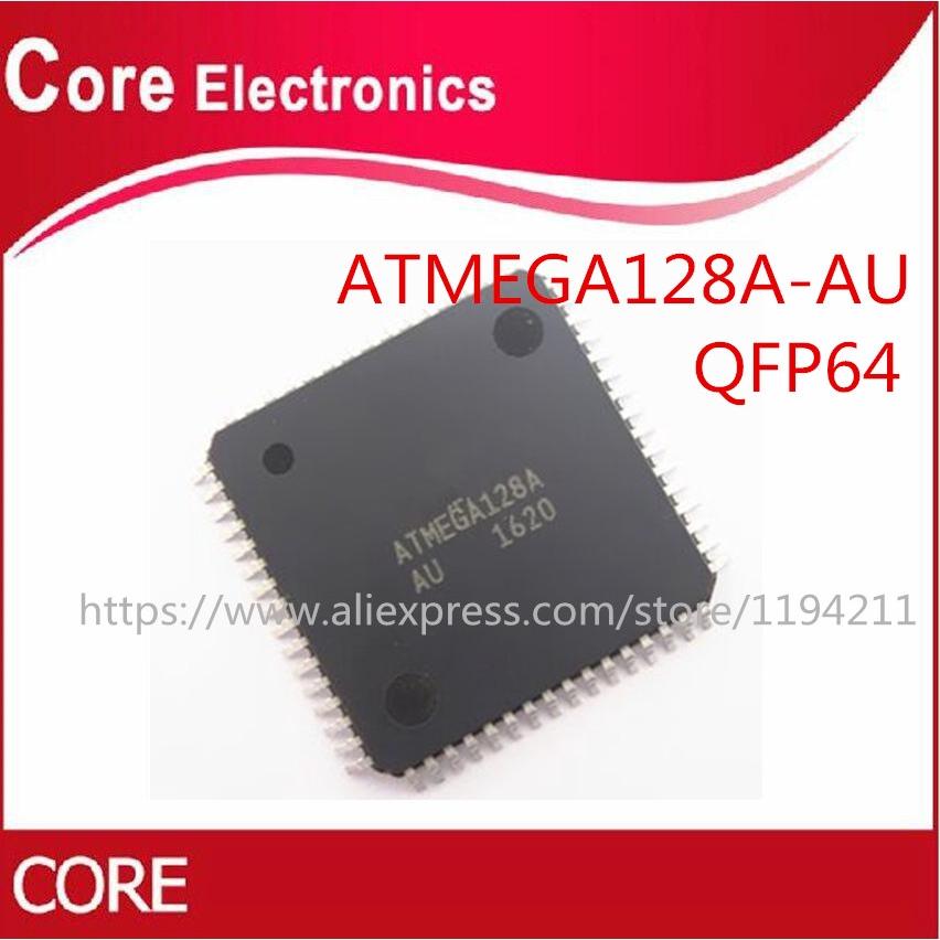 10PCS MCU IC ATMEL TQFP-64 ATMEGA128A-AU ATMEGA128A