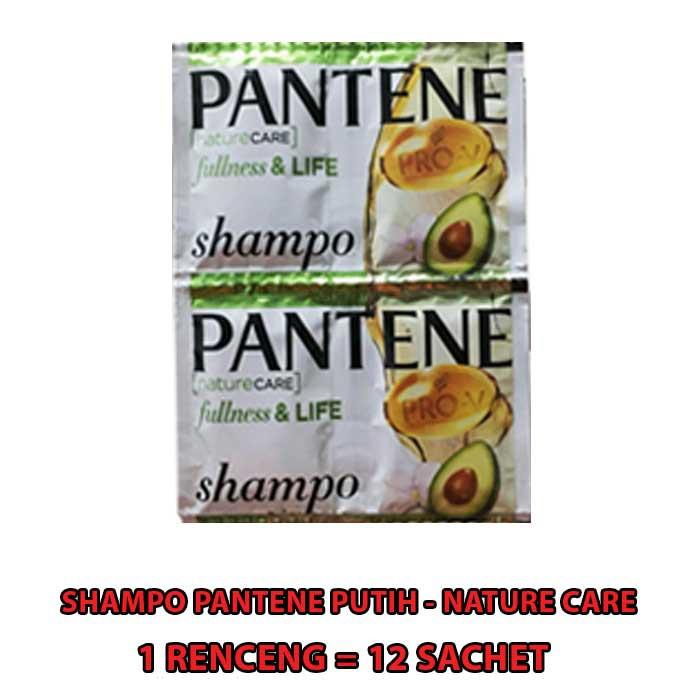 SHAMPO PANTENE SACHET 1 RENCENG ISI 12 SACHET-PUTIH