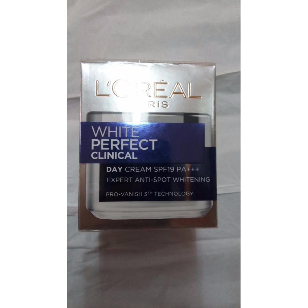 Loreal White Perfect Day Cream Pelembab Anti Flek Shopee Indonesia Krim Muka Meco Lightening 4gr