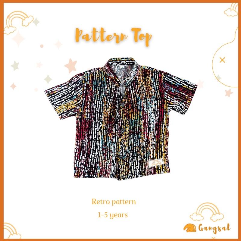 Gangsal alit – atasan anak rayon – baju anak motif – baju anak cowok – baju anak cewk – atasan anak