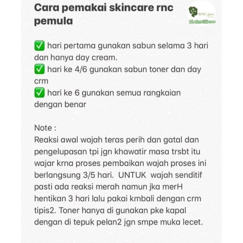Rnc Glow 100 Original Bpom Halal Aman Shopee Indonesia