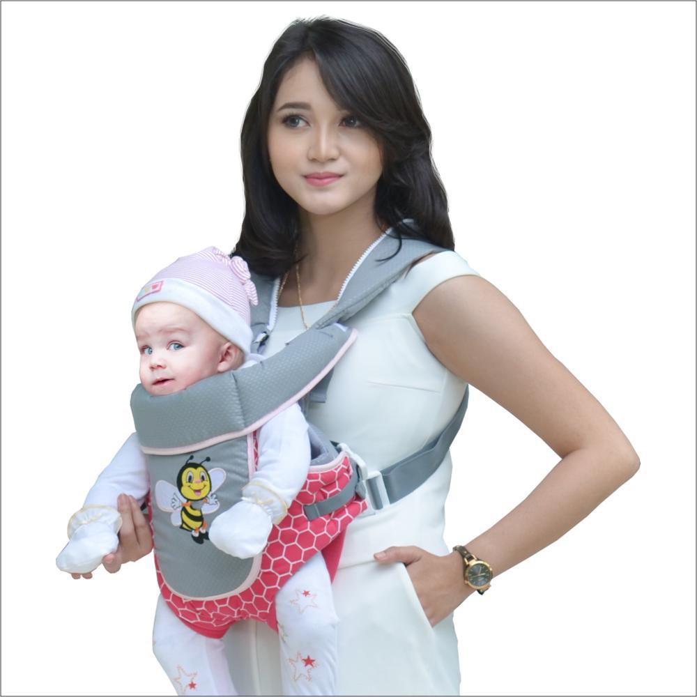 Gendongan Bayi Dialogue Daftar Harga Baby Tas Besar 3 In 1 Unique Series Strawberry Ransel Depan Bee Duduk