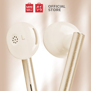 MINISO Headset Earphone Headphone Kabel Control Mic Microphone Earbuds In Ear  Awet Universal Stereo