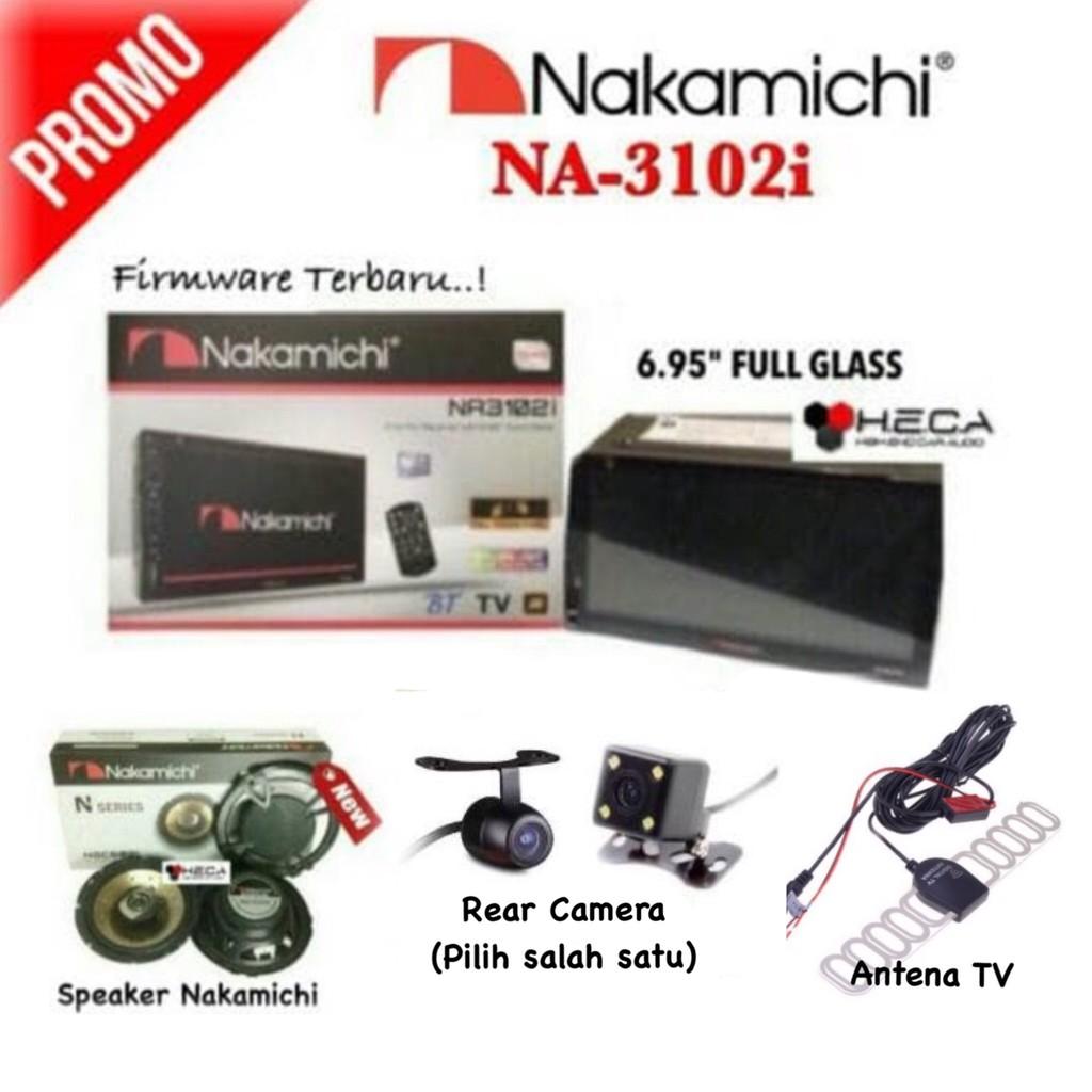 Paket Audio Double Din Tape Tv Mobil Sansui Sa 5200i 5201i Head Unit Sa5202i Fully Hd Garansi 5202i Camera Parkir Shopee Indonesia