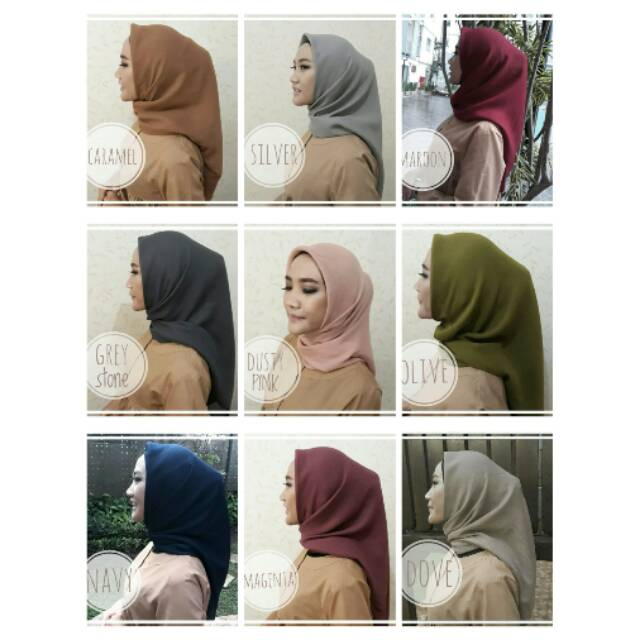 Corn Skin Hijab Shopee Indonesia