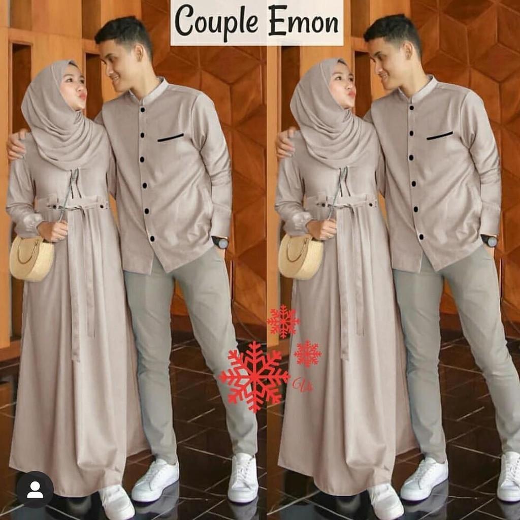 Mudah DeltaRN CP Molly Dress Couple Murah Kekinian Couple Cewek Cowok  Diskon HAZ9