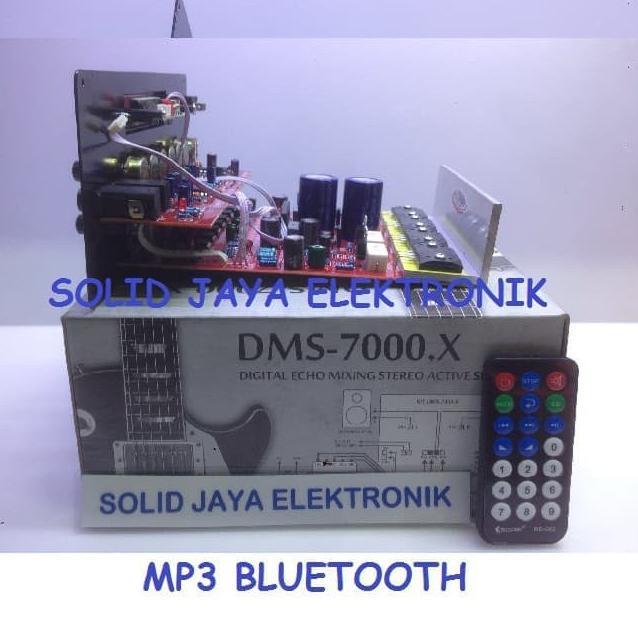Paling Kekinian KIT POWER SPEAKER AKTIF ACTIVE MP3 BLUETOOTH SANKEN DMS-7 DMS7000 DMS 7000 X .X BLUE