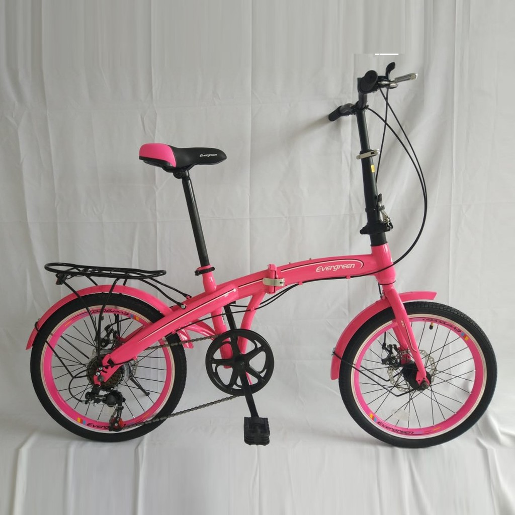 Sepeda Lipat Evergreen Eg120 2 - Sepeda Lipat