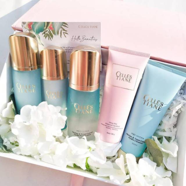 Celles Tiane Skincare Terbaik Di Dunia Shopee Indonesia