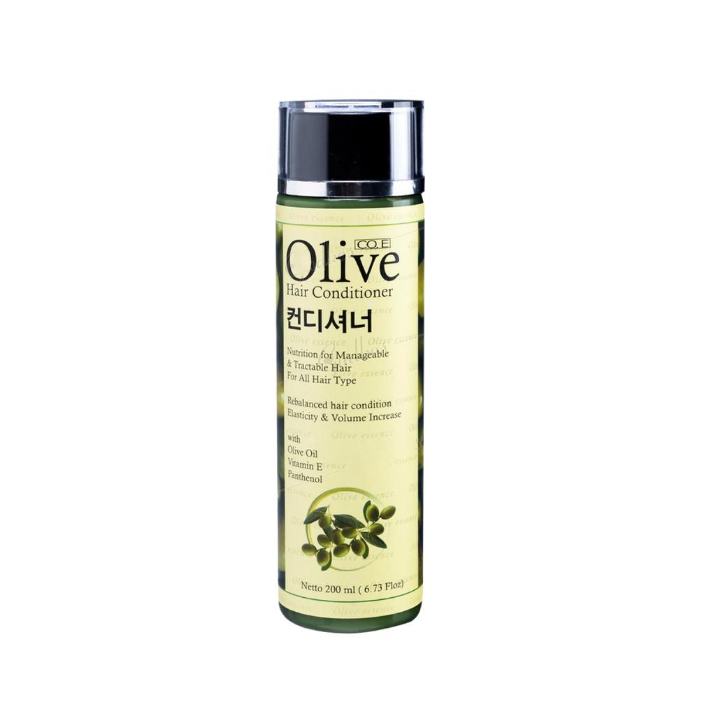SYB CO.E Olive Hair Treatment - Shampoo Conditioner Tonic Black Kemiri Oil Mask Serum Kids-Olive Hair Condition