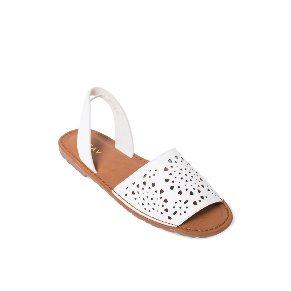 Promo Dr Kevin Women Sandals 57011 Cream Cokelat Muda 39 Update 2018 Flat 26131 Tan 3 Color Option Yellow White Shopee