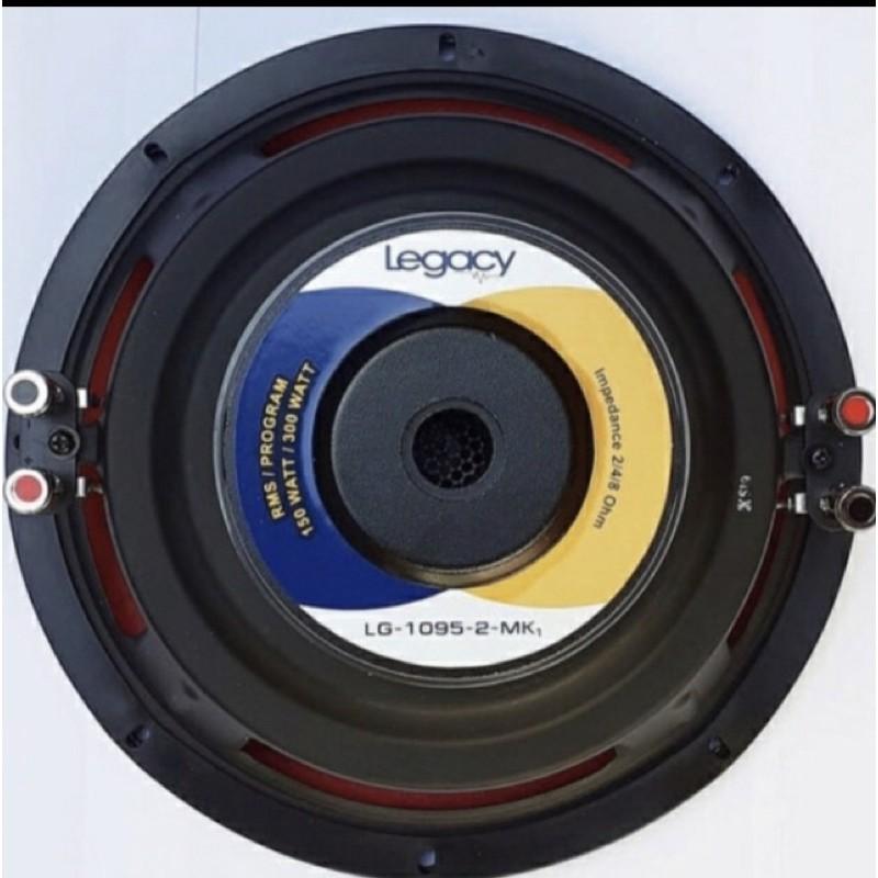 Subwofer legacy 10 inch Lg 1095-2 bass