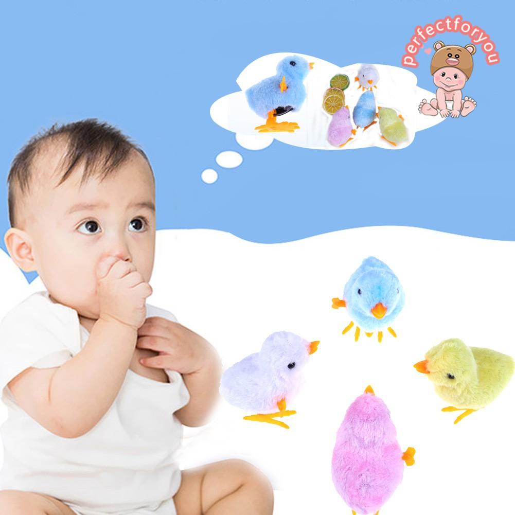 Boneka Anak Ayam Bisa Bergerak Lucu Untuk Anak Anak Warna Acak