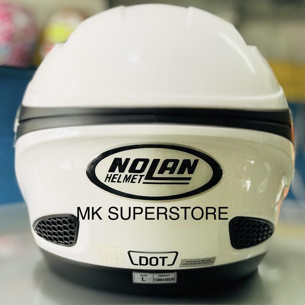 Zeus 811 White Putih Helm Fullface M L Xl Bukan Nolan Agv Arai Shoei Black Green Al3 Shopee Indonesia