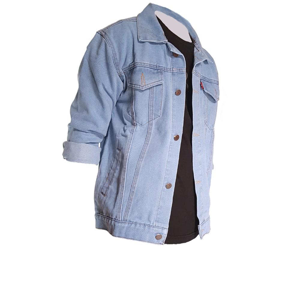 Jaket Jeans Bigsize Jumbo Xxl Xxxl Xxxxl Shopee Indonesia Levis Pria Levi S Basic
